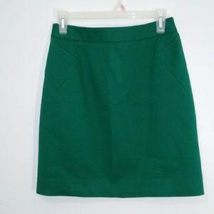 Kate spade green skirt size 2